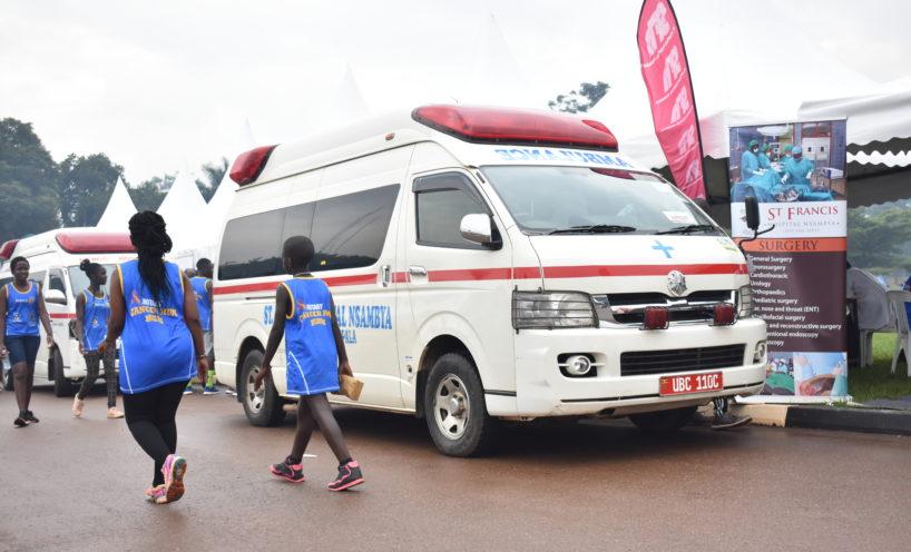 Nsambya Hospital at the 2019 Rotary Cancer Run