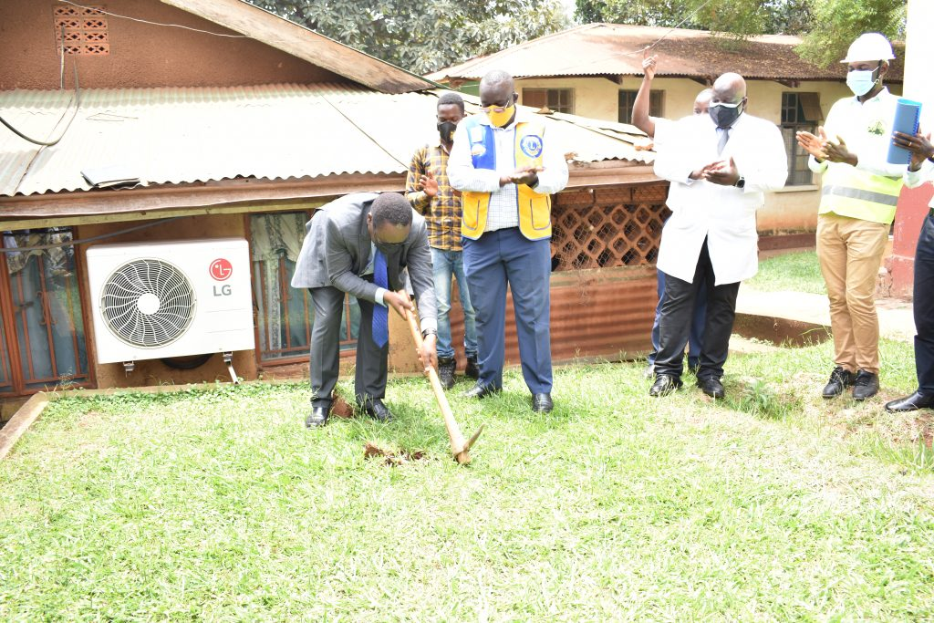 Groundbreaking Ceremony for the Specialised Eyecare Clinic – 31.08.2021